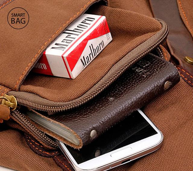 Рюкзак на плечо Augur | коричневый