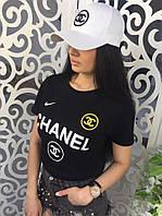 Женская Футболка CHANEL копия