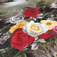 Ранфорс с 3д-рисунком Розы