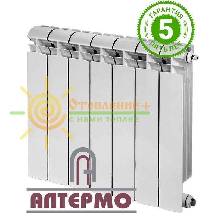 Биметаллический радиатор Алтермо 7 500х80 Полтава