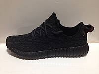 Адидас изи буст 350 Adidas yeezy boost 350 black 1-ого завоза