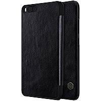 Nillkin XIAOMI Mi6 Qin leather Black case Кожанный Чехол Книжка