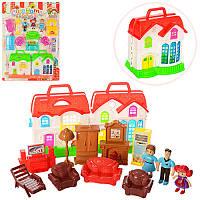 Домик для кукол с мебелью 16555B-1-2