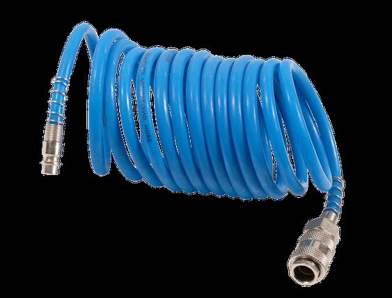 Спиральный шланг полиуретановый 10 м, фото 2