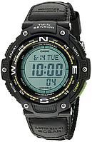 Мужские часы Casio SGW-100B-3A2CF Касио противоударные японские кварцевые