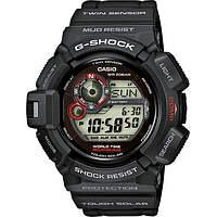 Мужские часы Casio G-Shock G-9300-1 MUDMAN Касио противоударные японские кварцевые