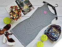 Модное мини платье - Майка вискоза