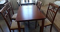 Стол кухонный Ривьера Dom, орех