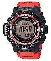 Мужские часы  Casio ProTrek PRW-3500Y-4 Касио противоударные японские кварцевые , фото 1