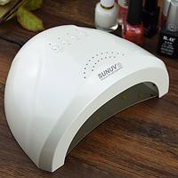 LED лампа для ногтей SunOne 48w и 24w 2 в 1 белая, фото 1