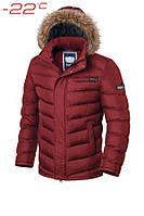 Куртка мужская до -22 Braggart Aggressive 1920B красная, р. S,M,L,XL,XXL,3XL, фото 1