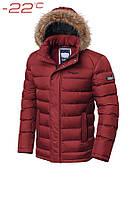 Куртка мужская до -22 Braggart Aggressive 3613T красная, р. S,M,L,XL,XXL,3XL, фото 1