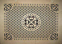 Решетка на радиатор №52