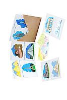 """Комплект наклеек для игры с машинками  """"Достопримечательности Мира""""(укр.яз) Трик Трек"""