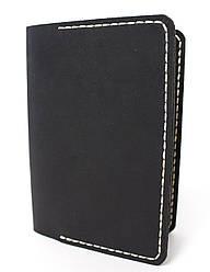 Обложка для паспорта ручной работы VOILE vl-pc1-blk-beg
