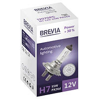 Галогеновая лампа Brevia H7 Power +30% 12v/55w