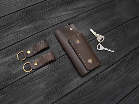 Ключница ручной работы VOILE vl-ck1-brn коричневая, фото 2