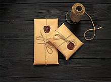Брелок для ключей коричневый ручной работы VOILE vl-kch1-brn, фото 3