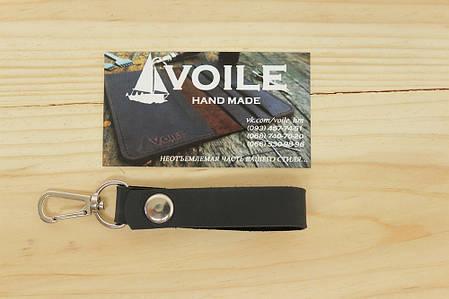 Брелок подвеска на ремень для ключей ручной работы VOILE vl-kch2-blk, фото 2