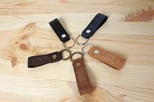 Мужской кожаный кошелек ручной работы VOILE vl-cw1-lbrn-tbc, фото 3