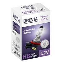 Галогеновая лампа Brevia H8 Power +30% 12v/35w