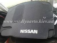 Ворсовые коврики в салон NISSAN Micra с 1998-2013 гг.