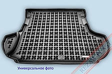 Коврик в багажник Skoda Roomster Praktik 2008 -> черный, Pick Up 2-ух местный