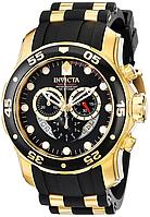 Мужские швейцарские часы INVICTA 6981 Pro Diver Инвикта дайвер водонепроницаемые швейцарские для дайвинга , фото 1