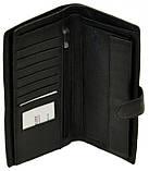 Мужской кожаный кошелек портмоне визитница dr. Bond натуральная кожа, фото 3