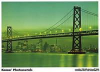 Фотообои мост Бруклин размер 388 х 270 см