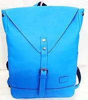 Рюкзак  молодежный к/з 1285 синий