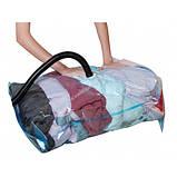 Вакуумный пакет для хранения и перевозки вещей 70х100 см, фото 5