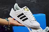 Кроссовки женские Adidas Superstar Classic белые