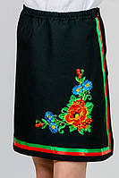 Детская юбка-вышиванка Калина; 128, 134, 140, 146, 152 размер