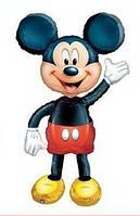 """Шар фольгированный фигурный """"Mickey Mouse"""" с ножками.  Размер: 80см."""