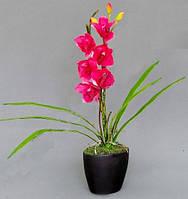 Искусственная орхидея в горшочке К15.026