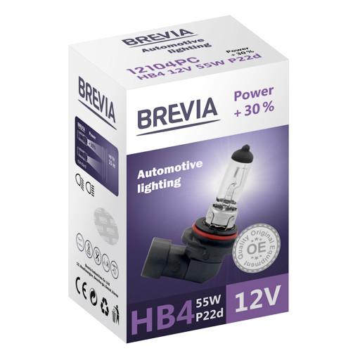Галогеновая лампа Brevia HB4 Power +30% 12v/55w