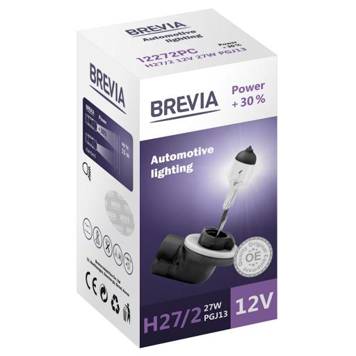 Галогеновая лампа Brevia H27/2 Power +30% 12v/27w