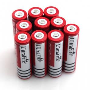 Аккумулятор литиевый 18650 Ultrafire 3.7V с защитой GREY, фото 2