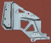 Брызговик крыла ГАЗ 3302 (с усилителем, не грунтованный) правый новый образец (производство ГАЗ)