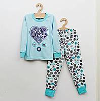 Детская хлопковая пижама р.110