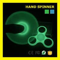 Неоновый спиннер ручной светящийся вертушка для рук Spinner SK