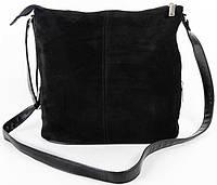Женская замшевая сумка клатч планшет Натуральный замш