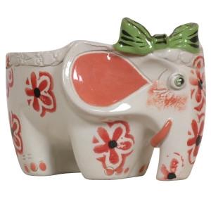Статуетка ваза керамічна Слоник Ді