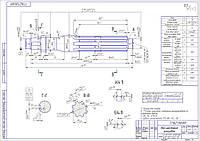 Изготовление деталей на металлообрабатывающее оборудование по чертежам заказчика