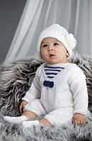 Детская пряжа  для ручного вязания ŞEKERİM BEBE (Шекерим беби) акрил    55 белый