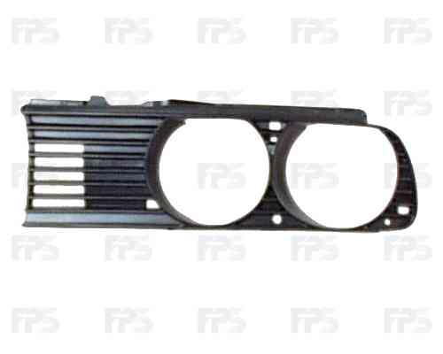 Решетка радиатора BMW 3 E30 87-91 правая (FPS)