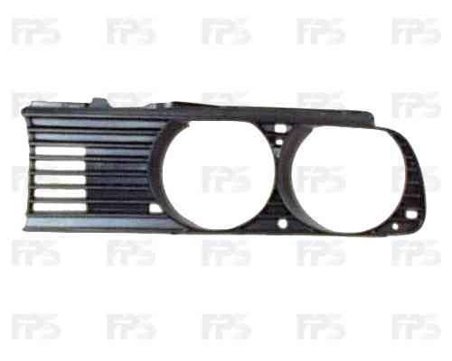 Решетка радиатора BMW 3 E30 87-91 правая (FPS), фото 2