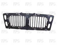 Решетка радиатора для BMW 5 E34 '94-96 средняя часть, без хром рамок (FPS)