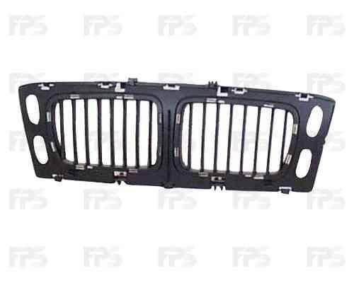 Решетка радиатора BMW 5 E34 94-96 средняя часть, без хром рамок (FPS), фото 2